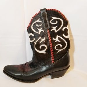 Naked Feet | Leather Cowgirl Boots - 7.5